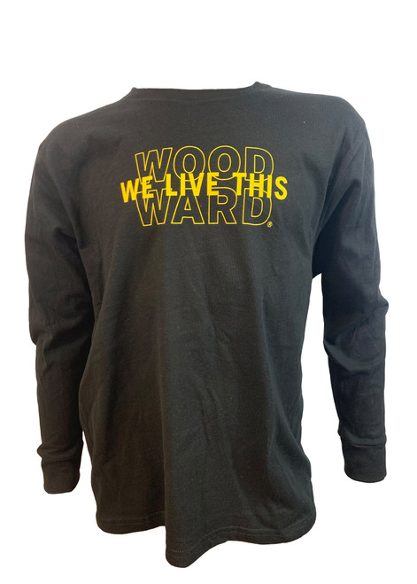 "Woodward Killington ""We Live This"" Logo Youth Long Sleeve Tee"