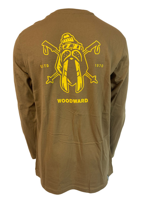 Woodward Walrus Logo Long Sleeve Tee