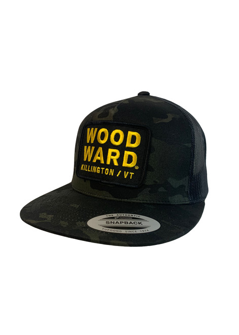 Woodward Killington Logo Black Camo Hat