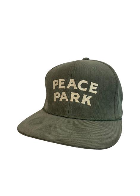 Woodward Peace Park Logo Corduroy Hat