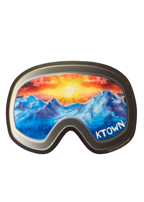 Killington Logo Goggle Sticker