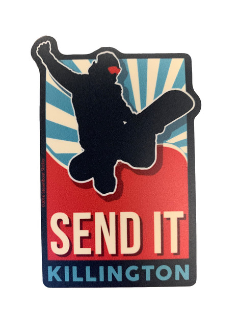 "Killington Logo ""Send It"" Sticker"