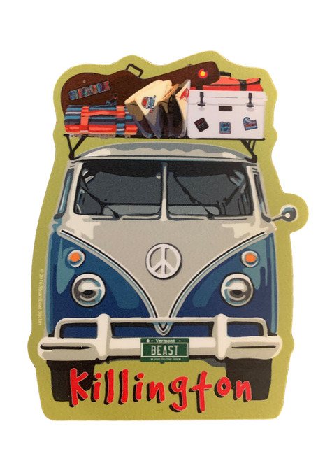 Killington Logo Bus Sticker