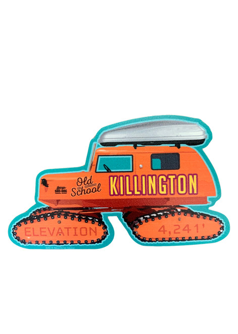 Killington Logo Snowcat Sticker