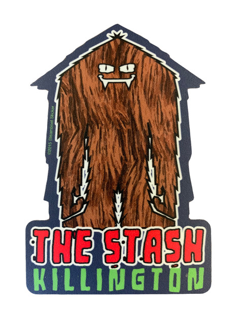 "Killington Logo ""The Stash"" Sticker"