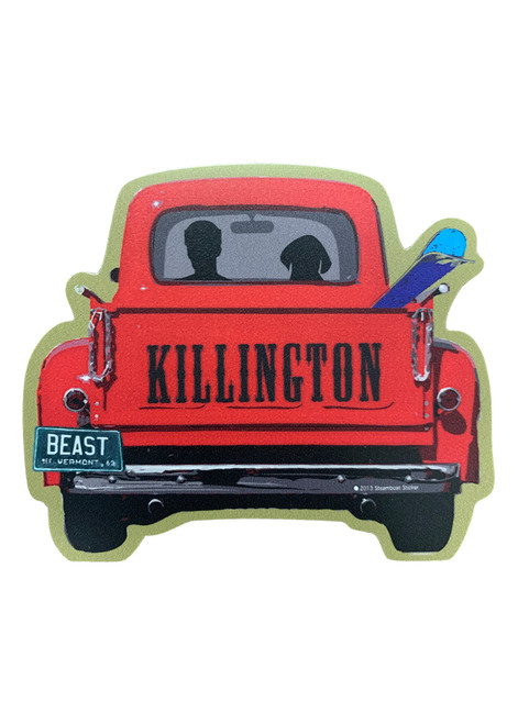 Killington Logo Ski Pickup Sticker