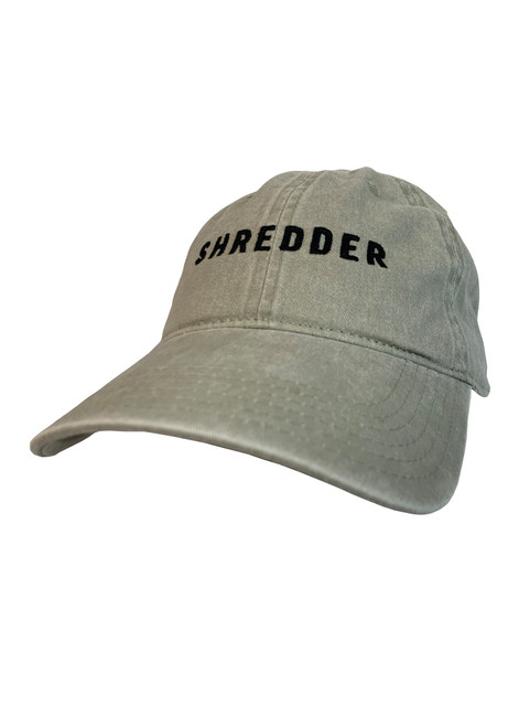 Woodward Logo Shredder Dad Hat