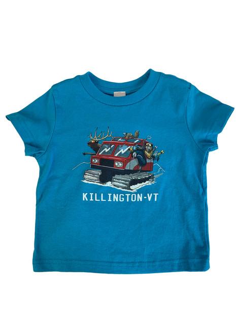 Killington Logo Toddler Snowcat T-Shirt