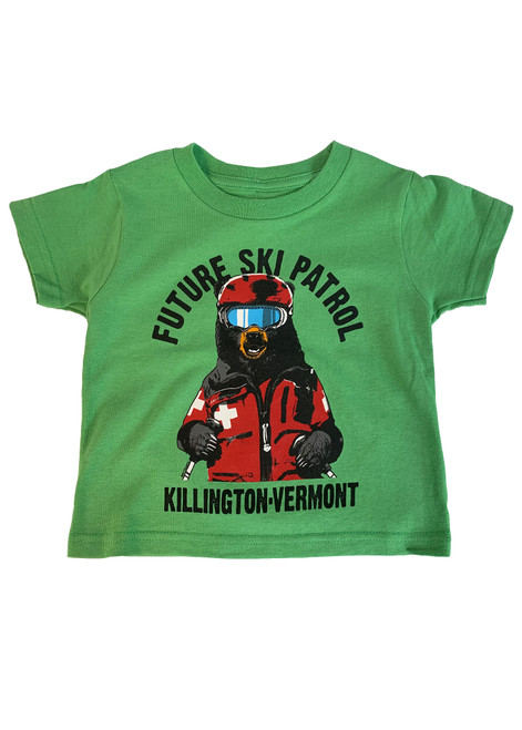 Killington Logo Toddler Ski Patrol T-Shirt
