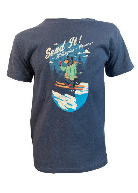 Killington Logo Youth Ski Bear T-Shirt