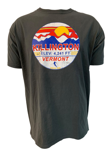 Killington Logo Retro Scene T-Shirt
