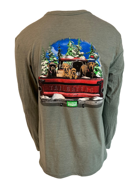 Killington Logo Winter Tailgaters Long Sleeve Tee