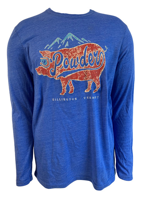 Killington Logo Powder Pig Long Sleeve Tee
