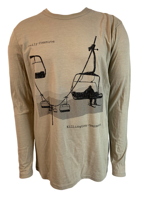 Killington Logo Daily Commute Long Sleeve Tee