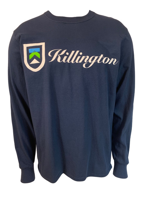 Killington Logo Full Script Long Sleeve Tee