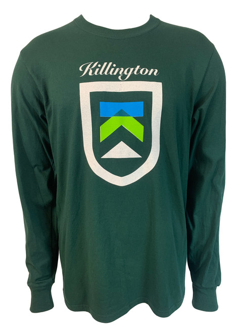 Killington Logo Shield Long Sleeve Tee