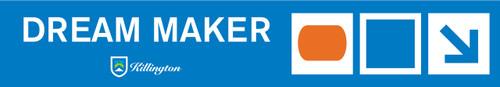 Dream Maker Terrain Park Trail Sign