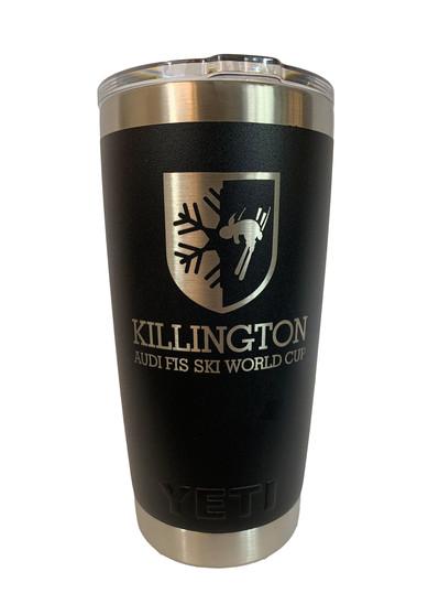 Killington Cup Logo YETI Rambler 20oz Tumbler
