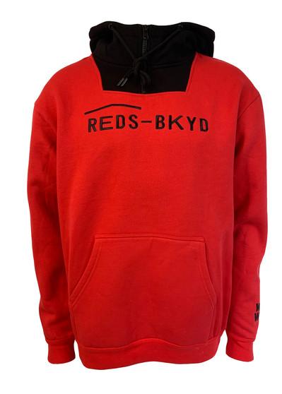 Woodward Red's Logo Block Zip Hoodie