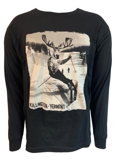 Killington Logo Ski Moose Long Sleeve Tee
