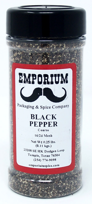 Coarse Ground Black Pepper (16/24 Mesh)