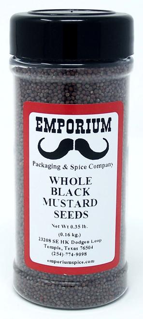 Whole Black Mustard Seed