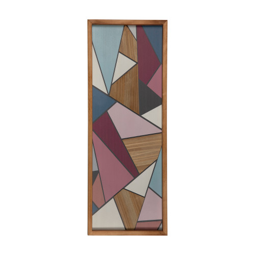 Multi Color Abstract Panel Wall Art