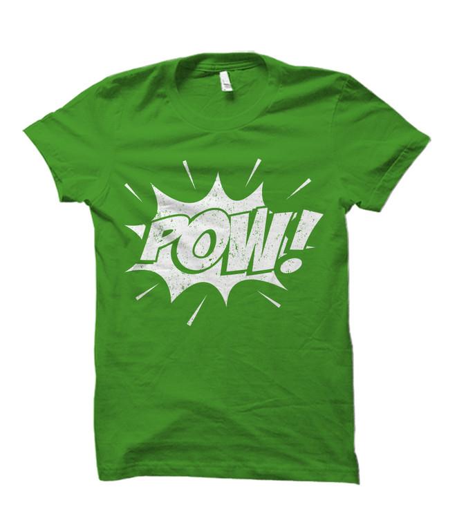 POW! Comic Book Burst Adult T-Shirt