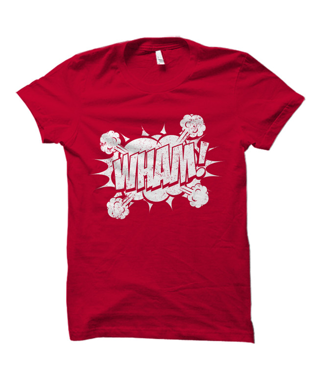 WHAM! Comic Book Burst Youth T-Shirt