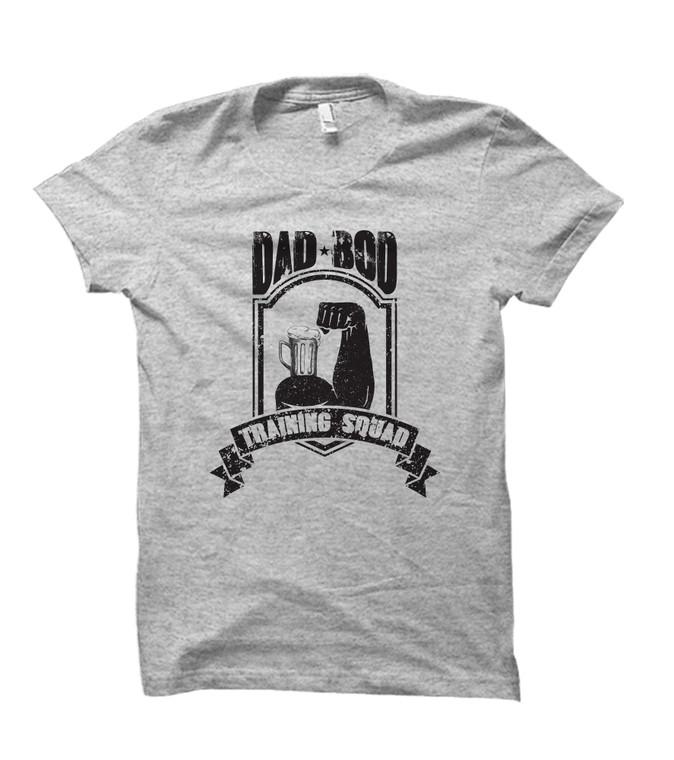 Dad Bod Training Squad Adult T-Shirt