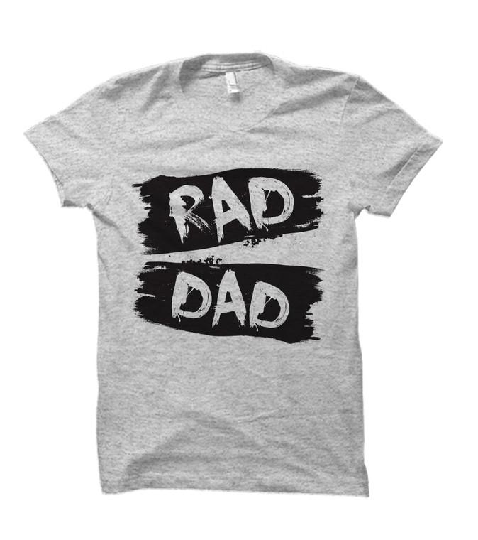 Rad Dad Adult T-Shirt