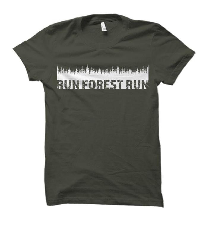 Run Forest Run Adult T-Shirt