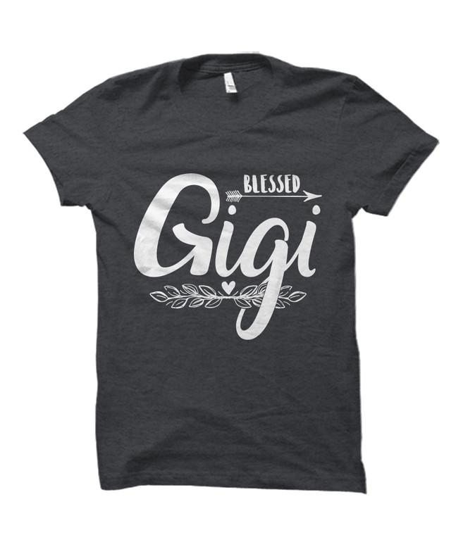 Blessed Gigi Adult T-Shirt