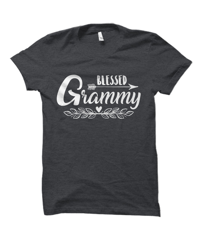 Blessed Grammy Adult T-Shirt