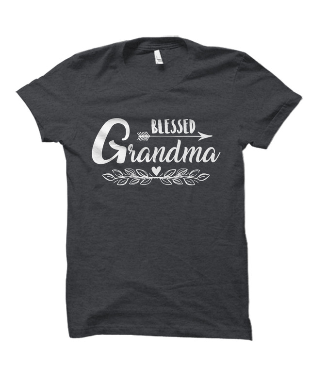 Blessed Grandma Adult T-Shirt