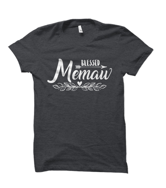 Blessed Memaw Adult T-Shirt