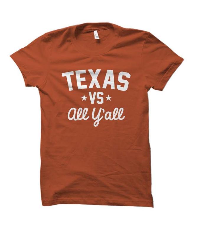 Texas Versus All Y'all Collegiate T-Shirt