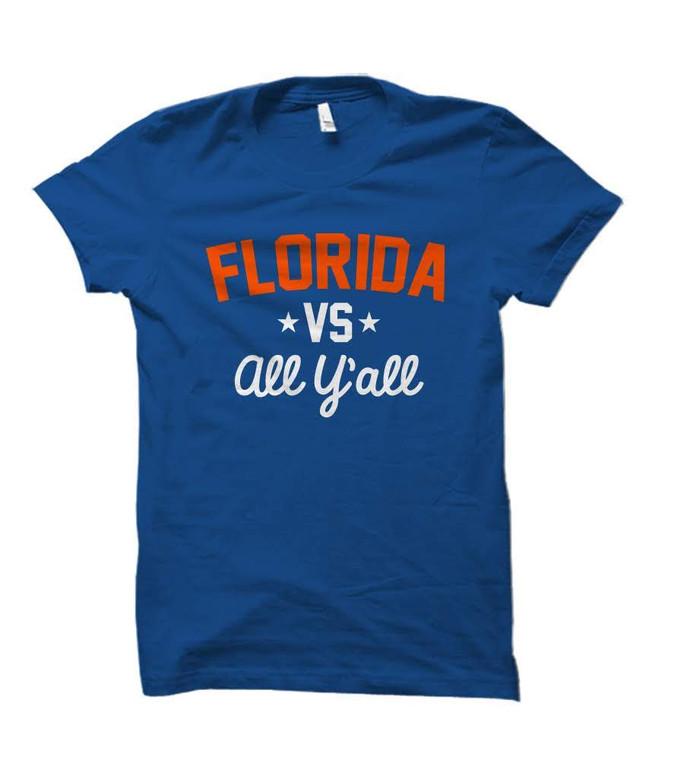 Florida Versus All Y'all Collegiate T-Shirt