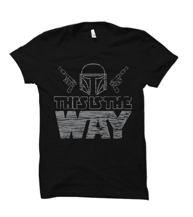 This is the Way Mandalorian Themed Adult & Youth T-Shirt