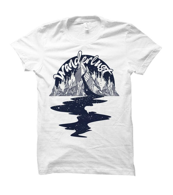 Wanderlust Travel Themed Adult T-Shirt