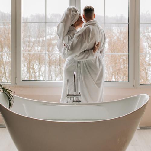 His 'n Her Bathrobes