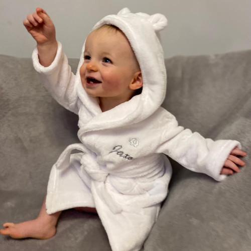 Baby Bathrobe Personalised