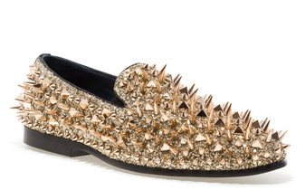 Lord Gold Spike Slip-on Loafer (LORD-GOLD)
