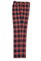 Plaid Red Black White Pants (PLD-305-RED-2)
