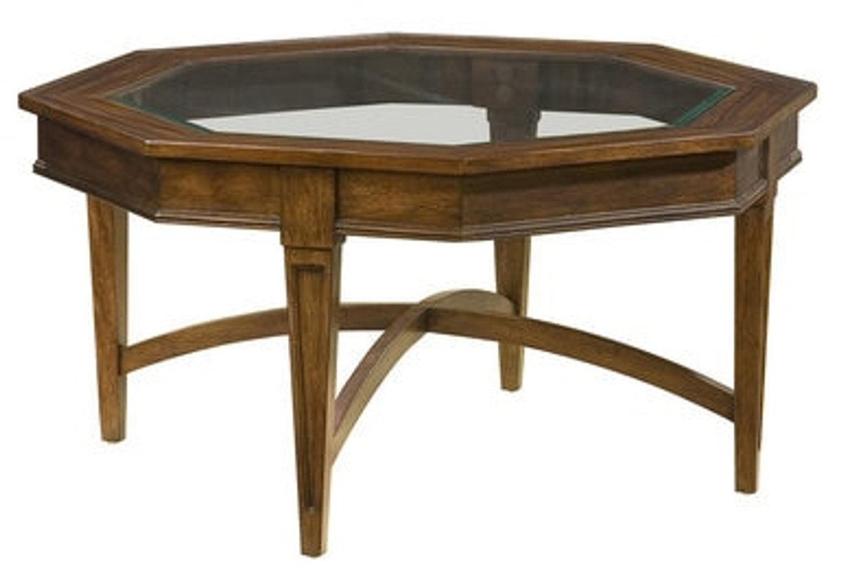 - Accents Octagon Coffee Table - MMFurniture.com