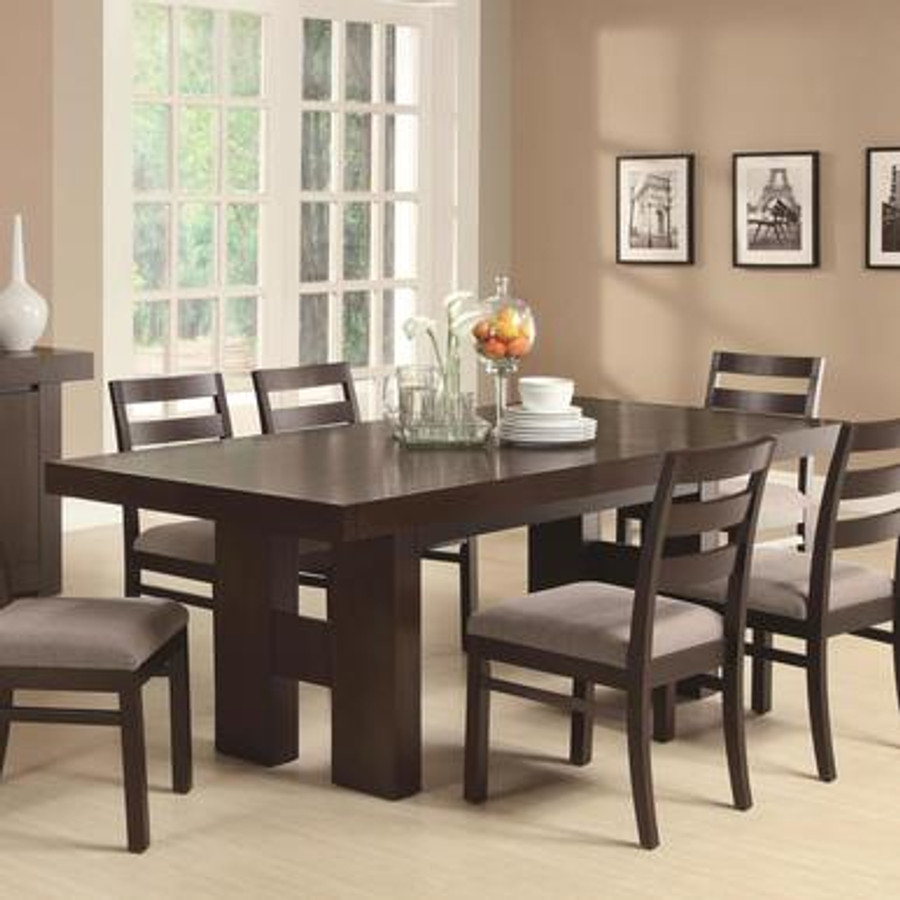 newest 8c004 3d2bf Dabny Dining Table with Pull Out Extension