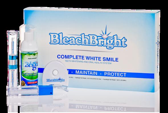 3-in-1 Home Whitening System-NightBright, StarBright, & FoamBright