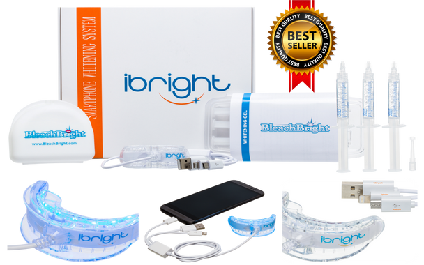 ibright Smartphone Whitening System -iPhone, Android & USB