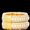 10K Yellow Gold Men's Diamond Ring 1.90Ctw