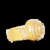 10K Yellow Gold Men's Diamond Ring 1.35Ctw
